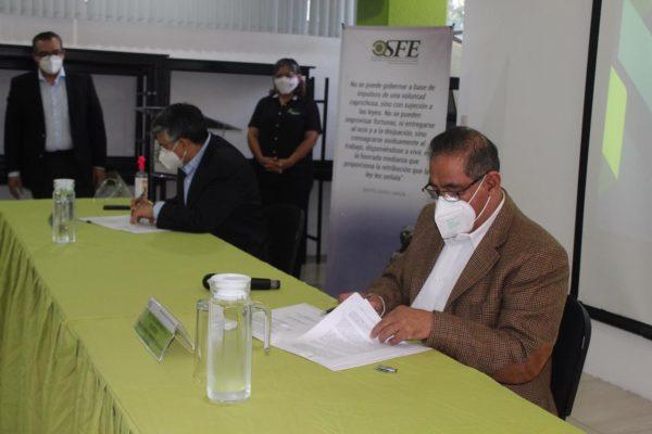 SCTG, OSFE y Fiscalía Anticorrupción firman convenio para perseguir la corrupción en el ámbito penal y administrativo