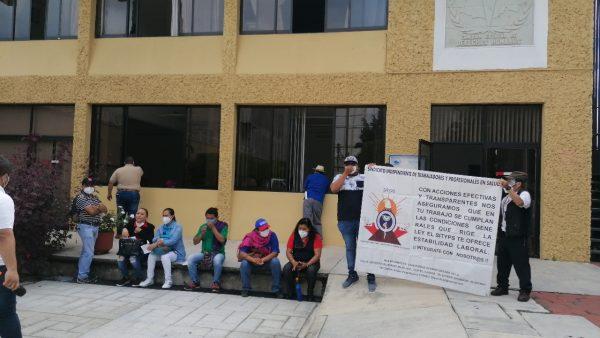 Sindicato Independiente de Salud denuncia hostigamiento de parte de Sección 35