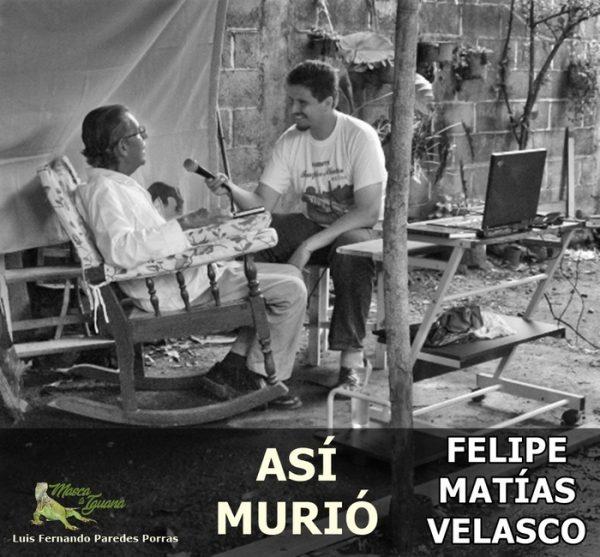 Masca la Iguana/Así murió Felipe Matías Velasco