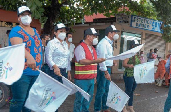 Noé Ramírez inicia jornadas de el Tequio por la Salud en Tuxtepec