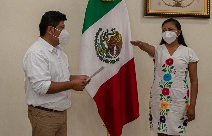 Nombra Noé Ramírez a Aidé García Directora del Instituto Municipal de la Mujer en Tuxtepec