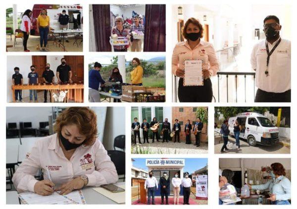 San Jacinto Amilpas, municipio con más actividades y trabajo para su población