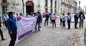 Trabajadores del CONALEP en Oaxaca, anuncian posible estallamiento de huelga