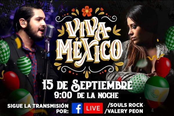 Para celebrar Día de la Independencia, músicos tuxtepecanos Valery Peon y Souls Rock ofrecerán un concierto virtual