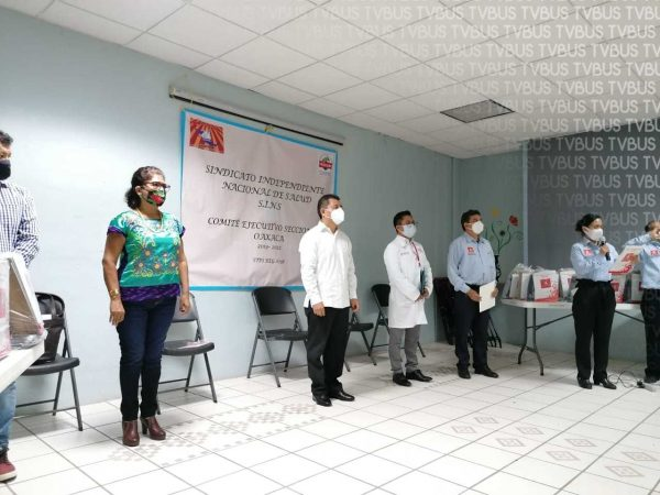 Entregan apoyos al Hospital de la Niñez Oaxaqueña