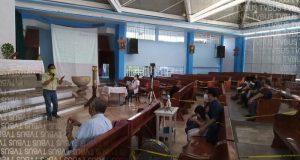 Capacitan a párrocos de Loma Bonita, para aplicar protocolos de sanidad en Iglesias