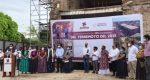 Autoridades de Juchitán, conmemoran 3 años del sismo que debastó al Istmo de Tehuantepec