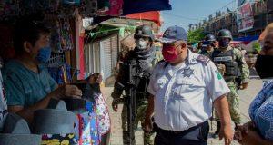 En Juchitán, reinician operativos de vigilancia sanitaria por covid