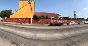 """Realizarán Mega Mural en Tuxtepec, esto es parte del programa """"movimiento vecinal"""""""