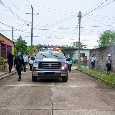 Noé Ramírez y Cabildo continúan con el apoyo a damnificados por lluvias en Playa de Mono