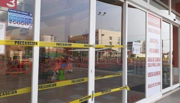 Pandemia, provoca al menos el cierre el de 8 negocios en la Multiplaza