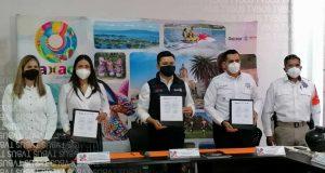 SECTUR y SSPO firman convenio de colaboración para fortalecer atención al turismo en Oaxaca
