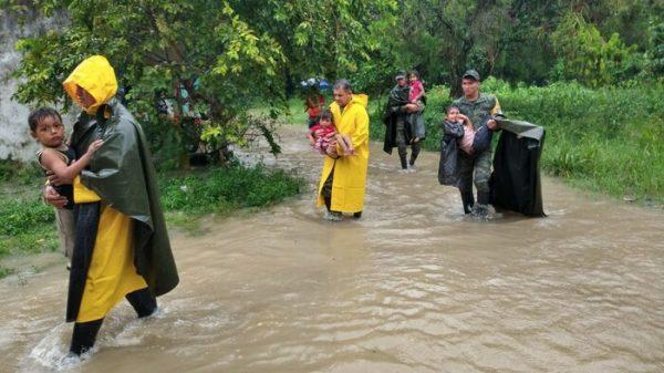 Suman 5 muertos y casi 600 mil afectados por 'Gamma' en Chiapas y Tabasco