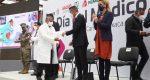 Reconoce Alejandro Murat compromiso humanista del sector salud