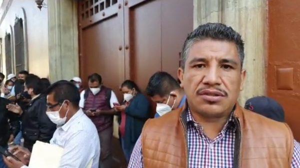 Antorchistas exigen justicia por asesinato de tres personas en Yosoñama