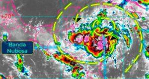 Emiten alerta verde para el norte de QRoo ante tormenta 'Zeta'