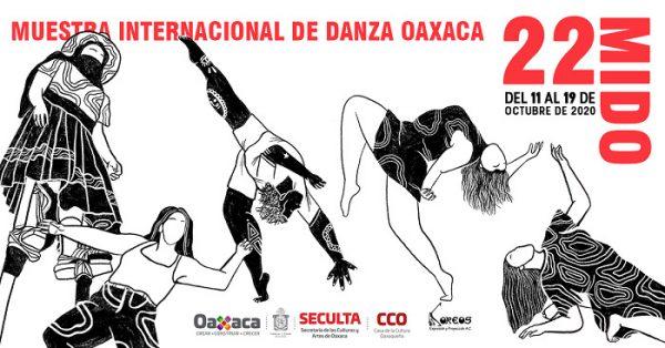 Llega la edición 22 de la Muestra Internacional de Danza Oaxaca en su debut virtual