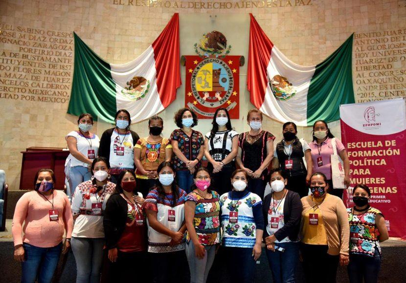 Diputada Elisa Zepeda Lagunas inaugura la Escuela de Formación Política Para Mujeres indígenas