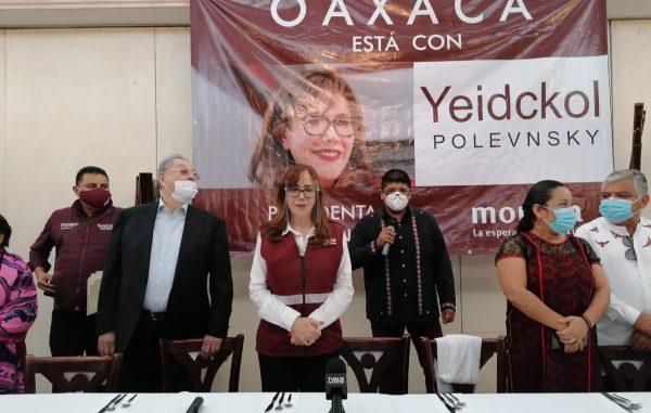 En Oaxaca, Polevnsky hace señalamientos contra Ramírez Cuellar