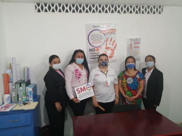 Presidenta del DIF de Loma Bonita, llama a las mujeres denunciar, violencia de género