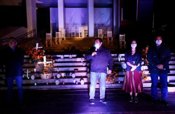 Rinde Congreso local homenaje a víctimas de la Covid-19 en Oaxaca