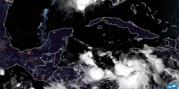 """""""Delta"""", el huracán más poderoso que ha llegado a México en 15 años"""