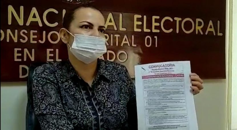 INE llama a participar como observadores electorales en el Distrito