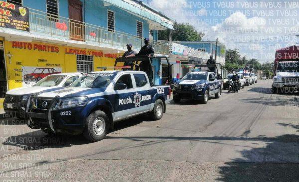 Inician operativos en Loma Bonita, van contra vehículos que no estén en regla