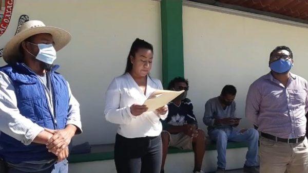 Insiste San Antonio de la Cal en salida de comisionado y creación de Consejo Municipal