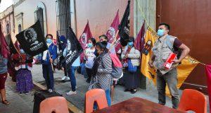 Integrantes de CIPO mantienen bloqueos en la capital del Estado; exigen atención en sus demandas