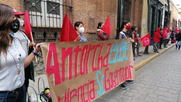 Integrantes de Antorcha Campesina piden seguridad para sus comunidades