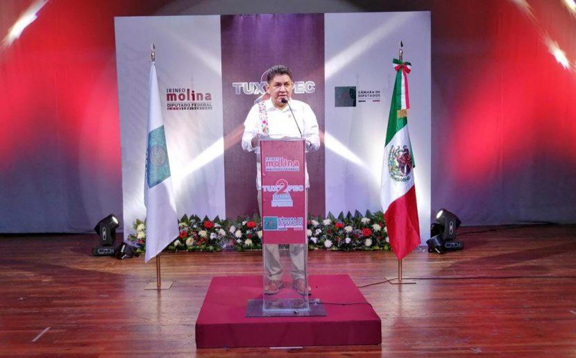 """Con mensaje """"Seguiré trabajando para Tuxtepec"""", reitera  Irineo, su aspiración a presidencia"""