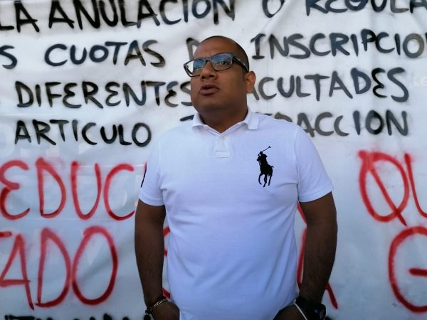 La lucha seguirá pese a que agrupaciones estudiantiles abandonaron el Frente: Vocero