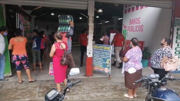 Módulo del INE retoma actividades en  Loma Bonita