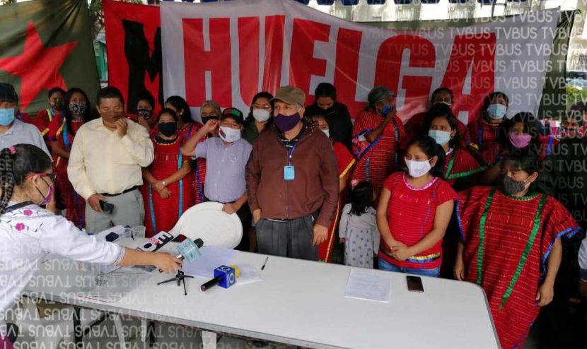 MULT trasladará huelga de hambre a CDMX ante falta de atención del gobierno de Oaxaca