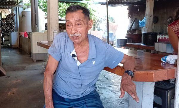 Pese a pandemia, Don Bricio Leyva elaborará altar como desde hace 76 años