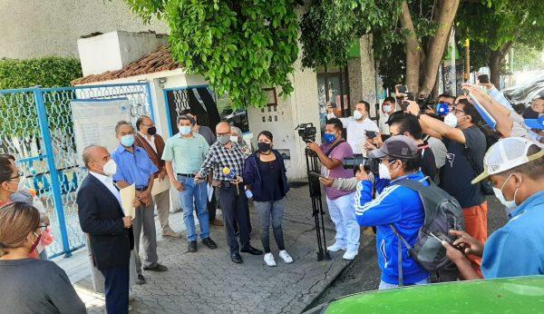 Por nula atención de ayuntamiento de Oaxaca, vecinos del centro histórico se manifiestan en DDHPO