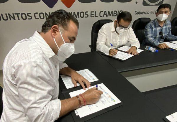Firman convenio de colaboración Sedapa y Universidades de Oaxaca