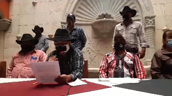 Santiago Minas protestará en la Cdmx, ante falta de respuesta por conflicto agrario