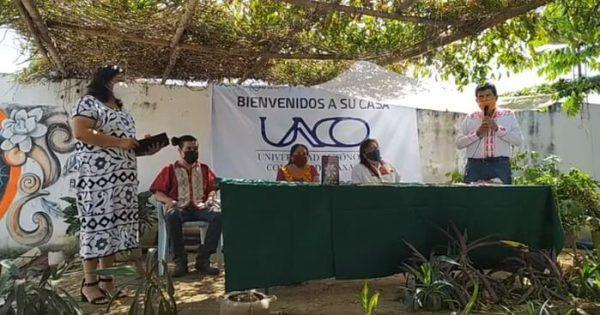 Inicia actividades educativas el Centro Universitario Comunal de Tuxtepec