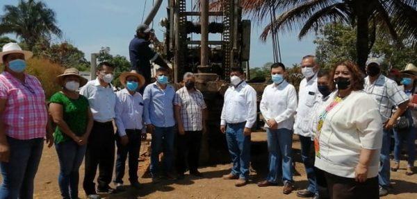 Noé Ramírez Chávez arranca obras en Tuxtepec por más de 5 mdp