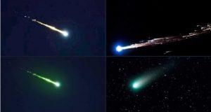 Se iluminó el cielo: las impactantes imágenes del meteorito que cayó en México