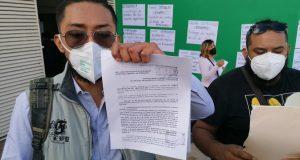 Trabajadores del STPEIDCEO exigen pago de uniformes a dirigencia sindical