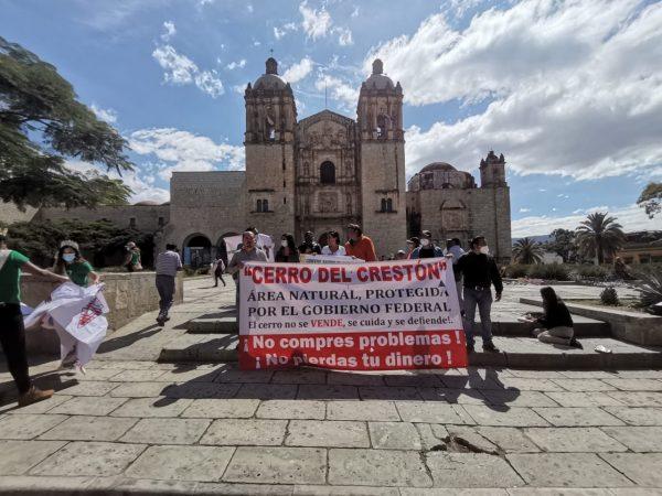 Cerro del crestón no está en venta señalan ambientalistas y vecinos