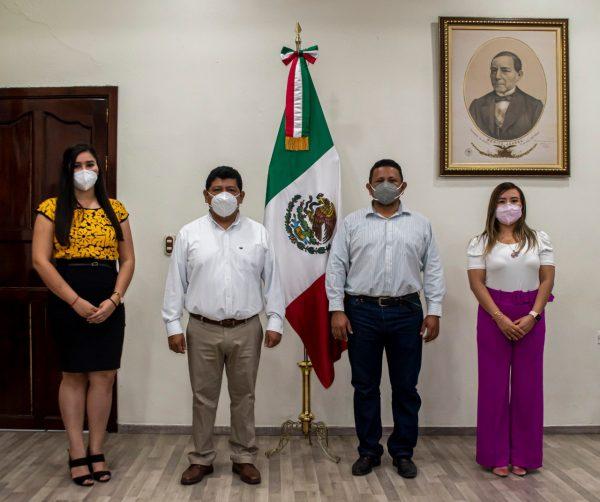 Noé Ramírez fortalece su gobierno con nuevos funcionarios