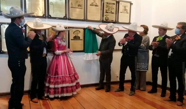 Don Javier García Sánchez ingresa al Salón de la Fama de la Federación Mexicana de Charreria