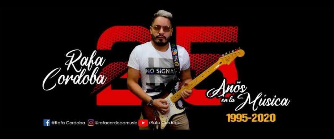 Rafa Córdoba celebra 25 años de carrera musical con programa especial