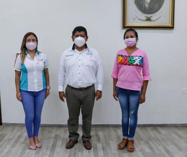 Noé Ramírez llama a las mujeres a sumarse a la campaña contra el Cáncer de Mamá