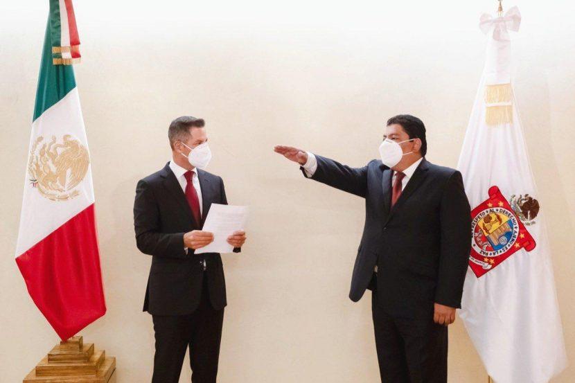 Cambios en gabinete de Murat, se va Mafud de SEGEGO
