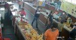 """Gracias a video, logran captura de asaltante en el mercado """"Las Flores"""" de Santa Lucia del Camino"""